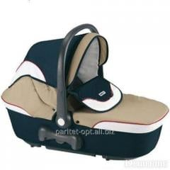 Firm cradle for Coccola carriage, color blue, the