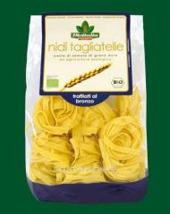 Noodles in Nidi Tagliatelle nests