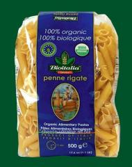 Pasta Feathers corrugated Penne Rigate