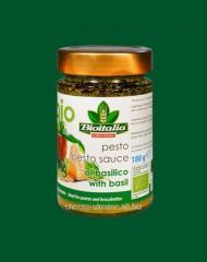 Pesto sauce with the Basil