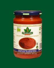 The tomato paste concentrated
