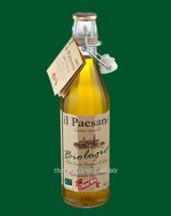 The olive oil il Paesano Bio not filtered Extra