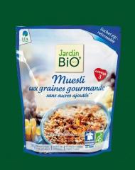 Muesli with sunflower seeds without sugar