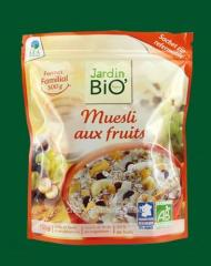 Muesli with frui