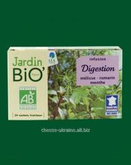 Herbal tea for improvement digestion with