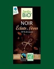 Dark chocolate of 70% of cocoa