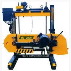 The equipment is sawing. The equipment is