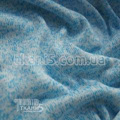 Fabric Jersey knitted (blue) 5238