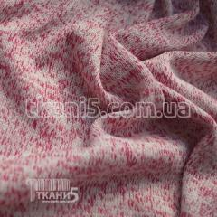 Fabric Jersey knitted (crimson) 5242