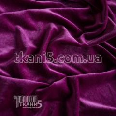 Fabric of Streych velvet (fuchsia) 5275