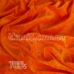 Fabric Velour (orange neon) of 2683