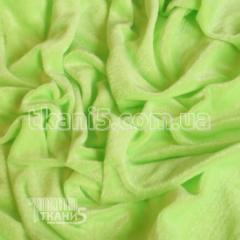 Fabric Velour (lime neon) of 2684