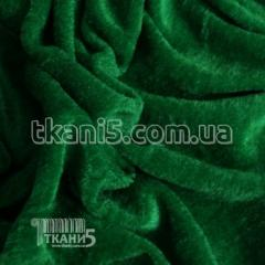 Fabric Velour (grass green) of 2472