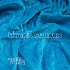 Fabric Velour (blue turquoise) 4040