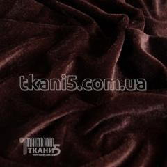 Fabric Velour (brown) 4039