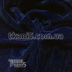 Fabric Velour (dark blue) 2691