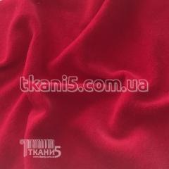 Ткань Велюр хб ( ярко малиновый )