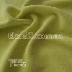 Ткань Велюр хб (светло-салатовый) 4530