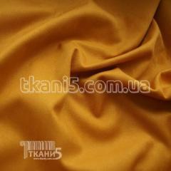 Ткань Стрейч замша тонкий (горчица )