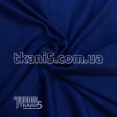 Ткань Стрейч замша тонкий ( электро-синий)