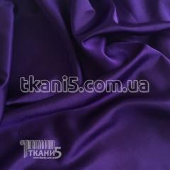 Fabric Satin-backed crepe (darkly violet) 4274