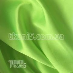 Fabric Satin-backed crepe (bright lime) 4336