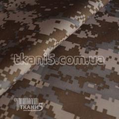 Ткань Оксфорд 600D PVC камуфляж (400 GSM) 4002