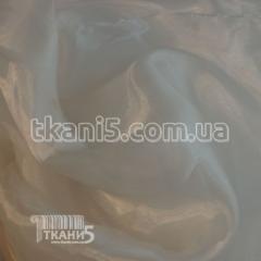 Ткань Кристалин органза, (белый) 3410