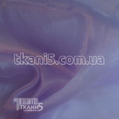Ткань Кристалин органза (светло-сиреневый) 3429