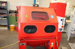 Bead-blasting cabin production Germany under the order
