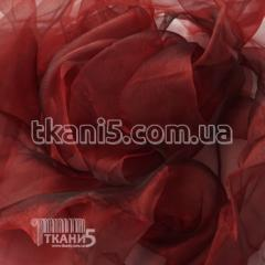 Fabric Organza for curtains (cherry) 4351