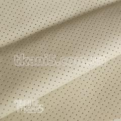 Fabric Punched to kozhza (beige) 3632