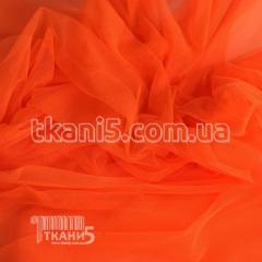 Ткань Сетка стрейч (ярко-оранжевый)