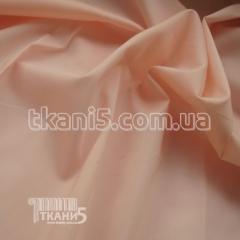 Fabric of Streych poplin (peach) 4731