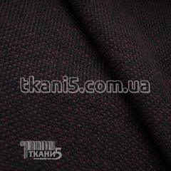 Fabric Jersey of a boucle (claret) 5217