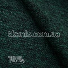 Ткань Трикотаж букле ( изумрудный )