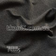 Fabric Jersey two-thread (gray melange) 3013
