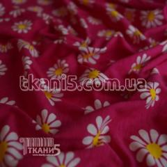Fabric Jersey of HB print (flowers) 3717