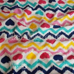 Fabric Jersey of HB print (hearts) 3720