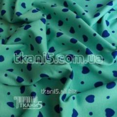 Fabric French jersey hearts 3866