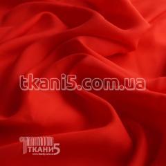 Fabric Chiffon silk (red) 3647