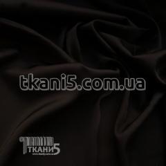 Fabric Chiffon silk (black) 5204