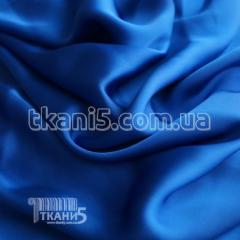Fabric Chiffon silk (electro-blue) 3653
