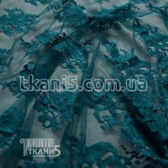 Fabric Chantilly's Guipure (sea wave) 4803