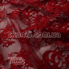 Fabric Chantilly's Guipure (dark red) 4802