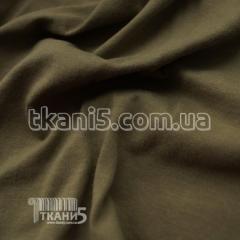 Ткань Кулир пенье в пачках 130 gsm (светлый хаки)