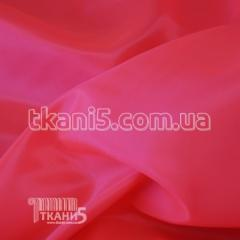Ткань Подкладка нейлон 170Т (неон-розовый)