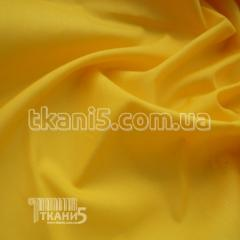 Fabric of Rubashechnaya fabric cotton (yellow)