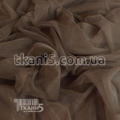 Fabric Grid streych (gray-beige) 3166