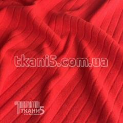 Fabric Jersey mohair strip (orange) 4081